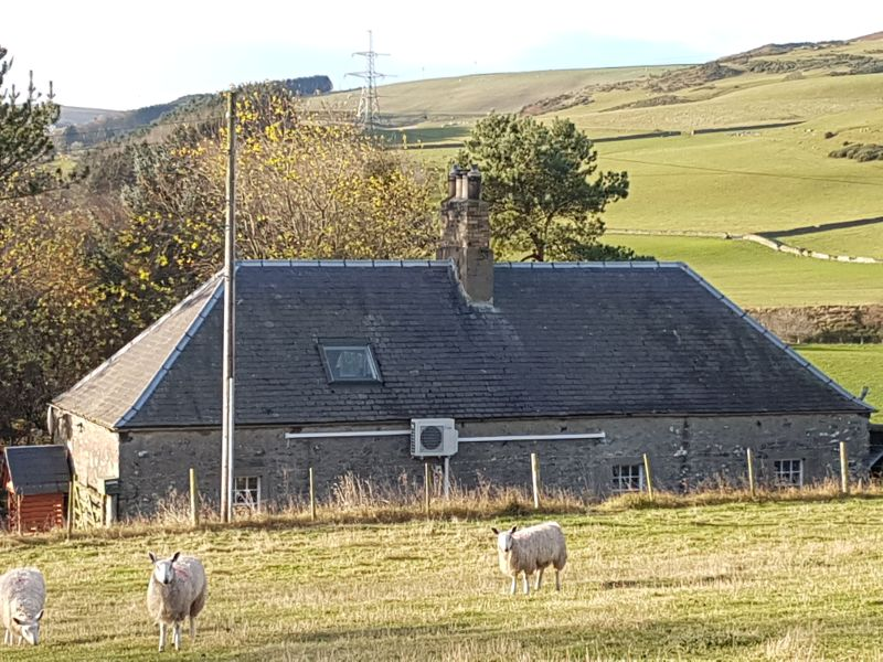 Scottish borders cottage